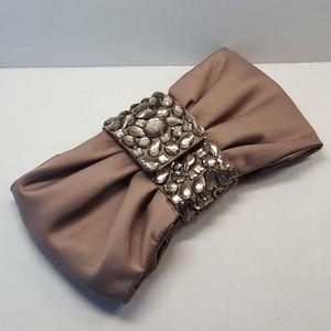 Banana Republic jewel embellished 'bow' bag/clutch